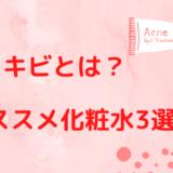 赤ニキビとは?【オススメ化粧水3つ・原因・予防と治し方を紹介!】
