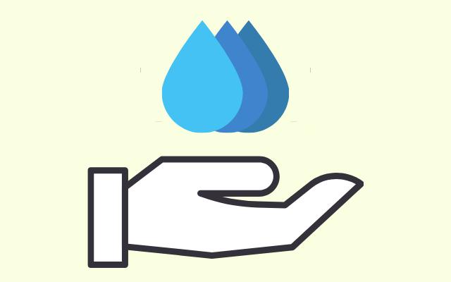 水分を表す