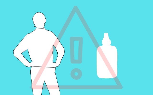 男性の化粧水の注意点