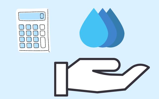 水の数を表す