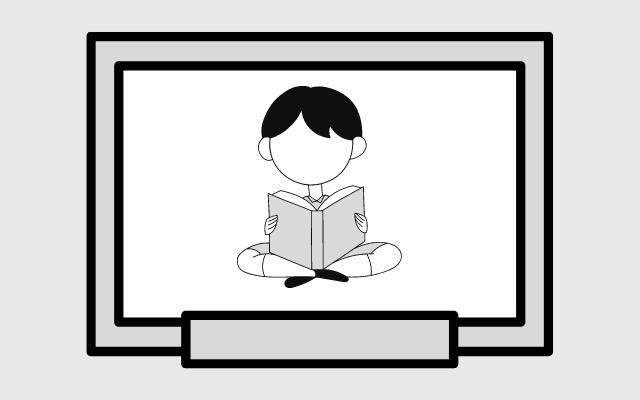 陰キャぼっちが読書をしてる